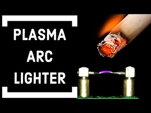 DIY| How to make an PLASMA ARC LIGHTER - Самые лучшие видео