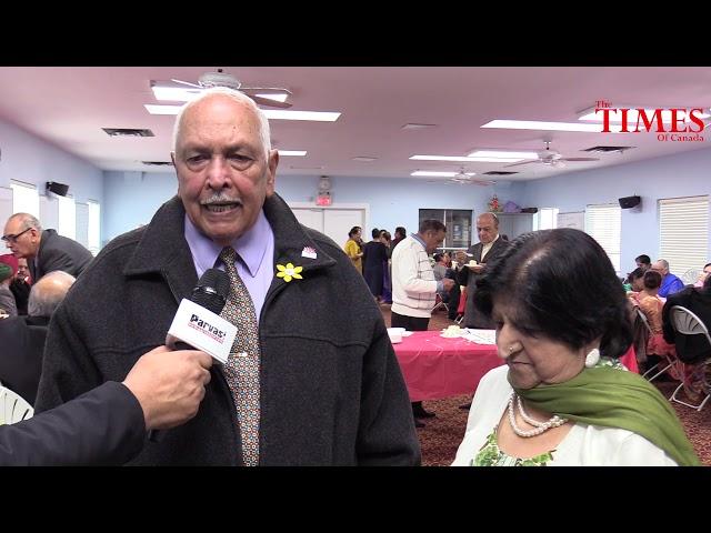 Seniors Group Birthday Celebration at Surrey's Laxmi Narayan Mandir