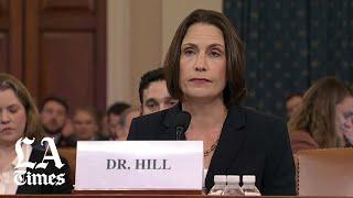 Trump's ex-Russia advisor Fiona Hill blasts Ukraine election interference conspiracy theory