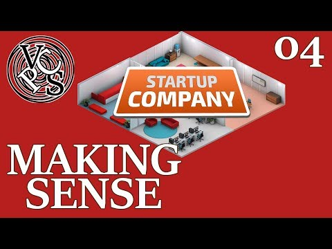 Making Sense : Startup Company EP04 - Alpha 11 Software Developer Business Tycoon Gameplay