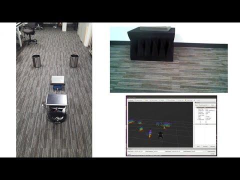 Robotic mapping and navigation using TI's mmWave sensor - YouTube