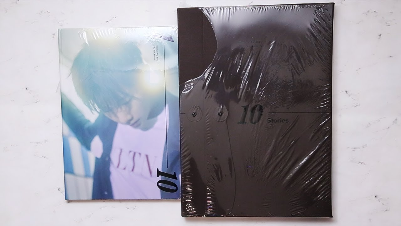 Unboxing Kim Sung Kyu Vol 1 10 Stories Normal Edition Big Size Limited Edition Youtube