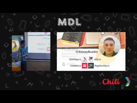 MDL Meetup #6. Alexey Buzdin - Firebase: Backend as a Service for Mobile and IoT