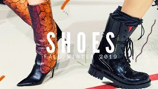 TOP 10 SHOE TRENDS | FALL/WINTER 2019-2020
