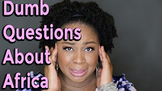 Africa Quiz | Dumb Questions About Africa - Is Africa A Country or Continent? | It's Iveoma
