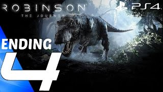 Robinson The Journey (PS4) - Gameplay Walkthrough Part 4 - T Rex & Ending [1080p 60fps]