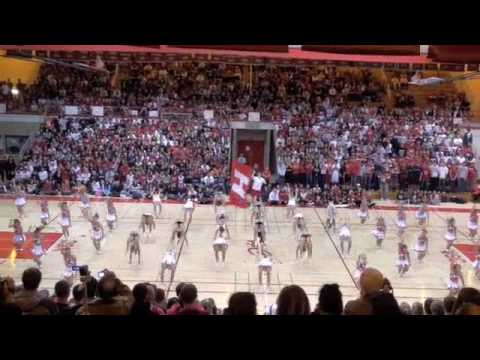 2009 Hinsdale Central Football Cheerleading Homecoming Routine Youtube