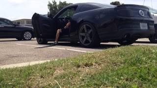 2011 Mustang GT Twin Turbo Cutouts