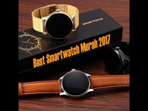 Best Smartwatch Murah 2017 Unboxing & Review LemFo K88H Indonesia