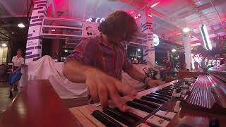 Hammond B3 organ Blues solo