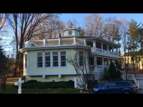 1896 hexagonal house bed and breakfast