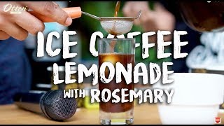 Icip-Icip Kopi - Ice Coffee Lemonade with Rosemary