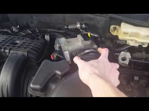 How to replace the upper intake manafold on a lincoln mkz and zephyr