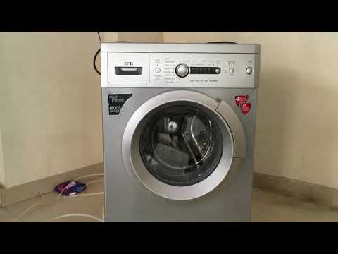 IFB DIVA AQUA VX/SX 6 KG 800RPM FULLY AUTOMATIC WASHING MACHINE | UNBOXING AND DEMO