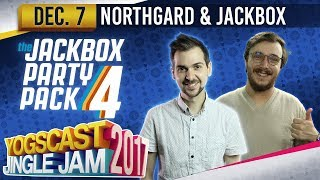 Jackbox & Northgard w/ Lewis & Zylus - YOGSCAST JINGLE JAM - 7th December 2017