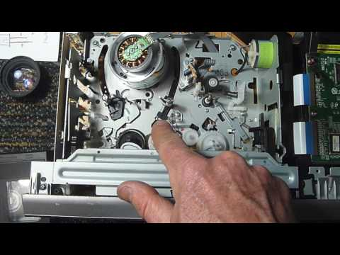 VCR was grinding gears due to a bad infrared LED.