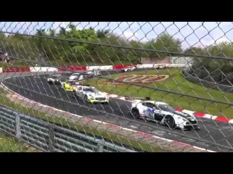Nurburgring 24 hour race start 2012