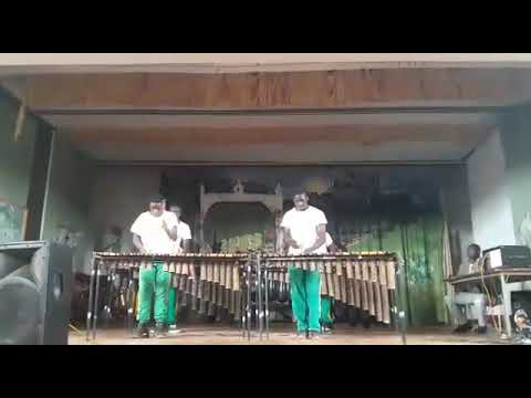 St Ignatius College Marimba performs at Nagle House
