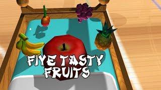 Five Tasty Fruits | Nursery Rhymes for Kids |Preschool Songs |kids song |