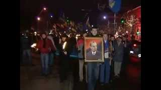 Stepan Bandera nas hrdina 112010 Kijiv, Ukrajina