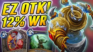Imagine how surprised the Opponent was | Wild OTK Shaman | Hearthstone Rise of Shadows