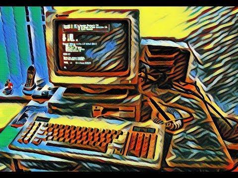 Commodore PC-1. A look at this odd Commodore PC. (Intel 8088)