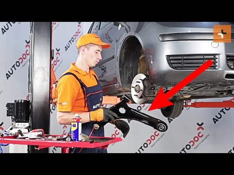How to replace Front Suspension Arm on MITSUBISHI COLT Z30 TUTORIAL | AUTODOC