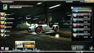 need for speed world caterham r500 superlight dando pal em carro top