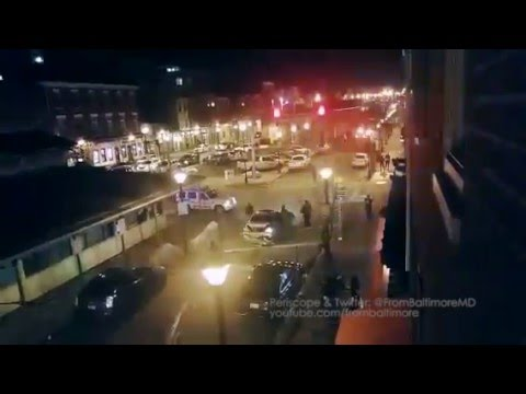 Baltimore fight turns into a driver ramming cars & people