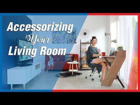 Accessorizing Your Living Room -Mandaue Foam Home TV