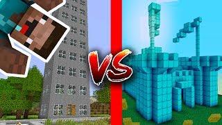 Thử Thách Solo Phá Nhà NOOB Trong Minecraft