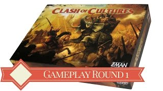 Clash of Cultures 4-Player Gameplay: Round 1