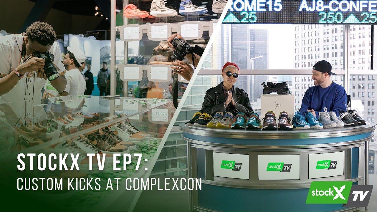 42d5953a40de StockX TV Ep. 7 – One-of-One Air Jordan 1s for ComplexCon - YouTube