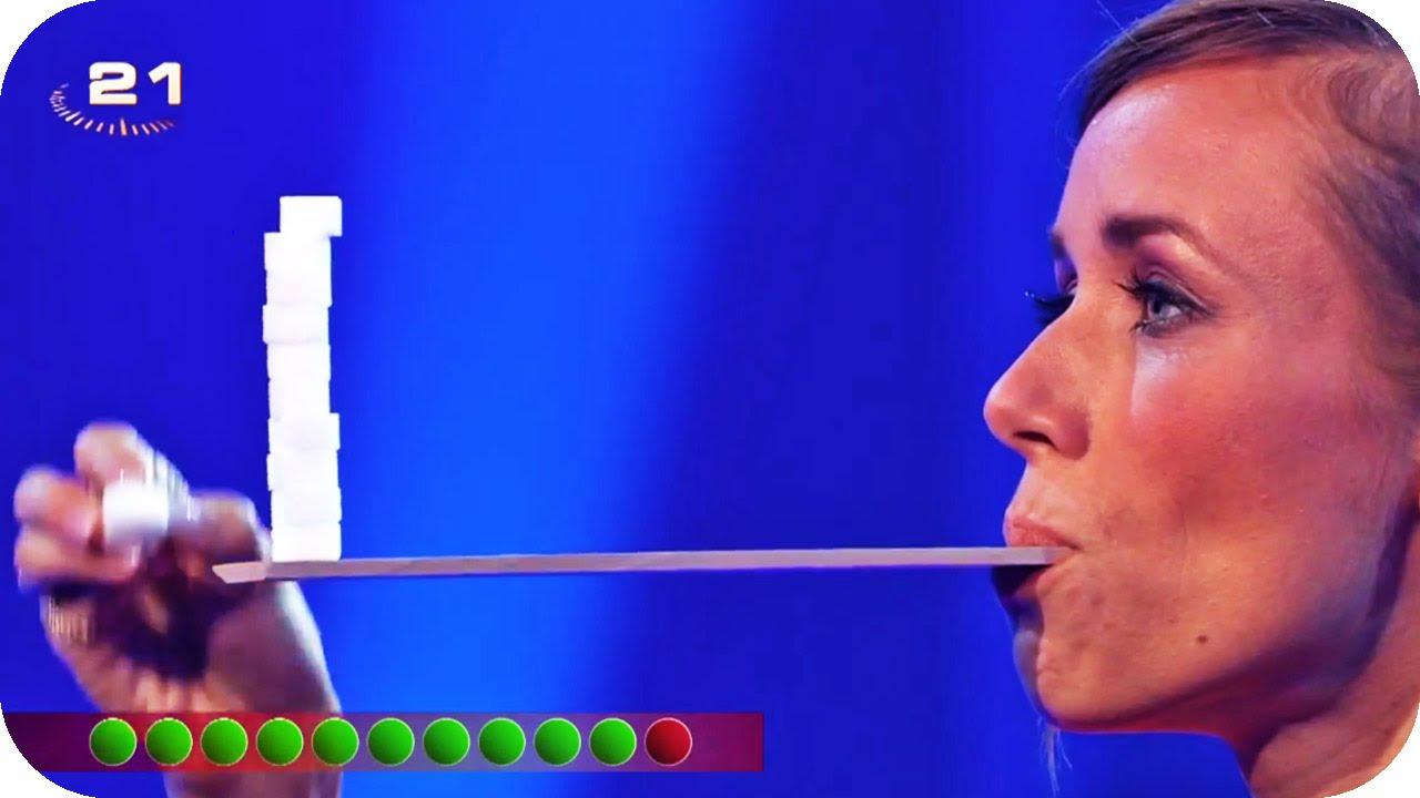 Annemarie pustet wieder [Annemarie & Wayne Carpendale] | Die perfekte Minute 2014 | SAT.1