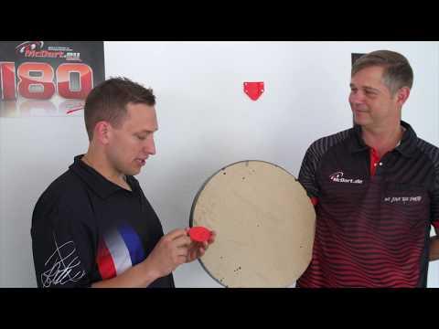 What´s Dart? #08 – Profix Wandhalterung Für Steeldartboards