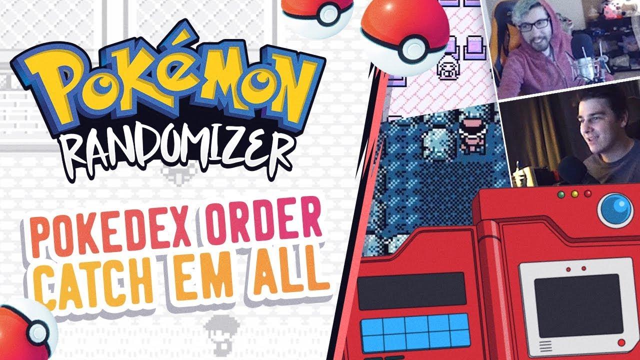 POKEDEX ORDER Catch Em All Pokemon Randomizer Race vs