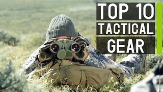 Top 10 Latest Tactical Survival Gears in 2019