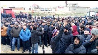 Дальнобойщики СЖИГАЮТ фуры  отказавшихся участвовать в стачке в Дагестане