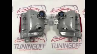 TUNINGOFF.RU - рестайлинг комплект на Toyota Land Cruiser 200 2016 в деталях