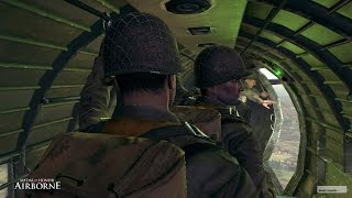 EPIC LANDING OF PARATROOPERS ON THE NAZIS HEADS ! Medal of Honor Airborne