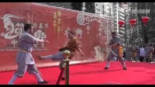 Reportaje año nuevo chino madrid - tv china