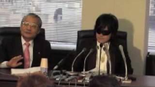 X JAPAN・TOSHI、脱会・離婚・自己破産会見(4) ホームオブハート 検索動画 28