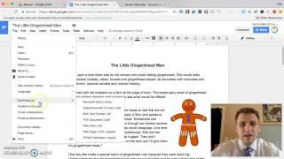 التكنولوجيا نصيحة # 10 - باستخدام محرر مستندات Google لإنشاء الكتب الإلكترونية