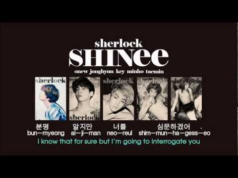 [EngSub] SHINee - Sherlock (Clue + Note)