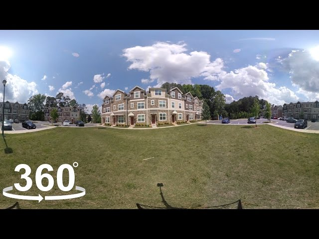 Centennial Park Townhomes Raleigh video tour cover