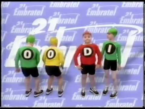 Comercial DDD e DDI da Embratel