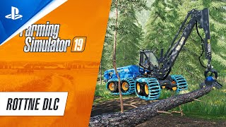 Farming Simulator 19 - Rottne DLC Launch Trailer | PS4