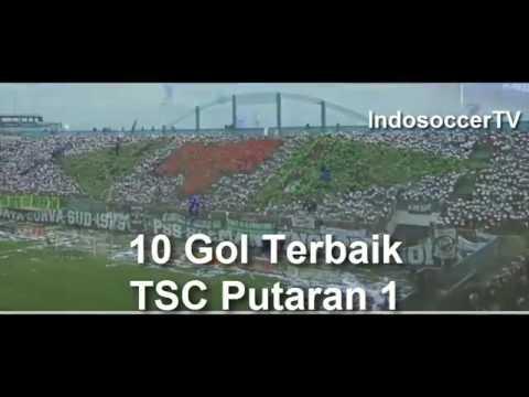 10 GOAL TERBAIK TORABIKA SOCCER CHAMPIONSHIP