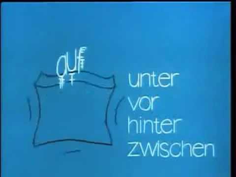 Предлоги места на немецком языке