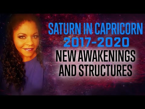 LIVE SESSION Saturn in Capricorn 2017-2020 HOUSES